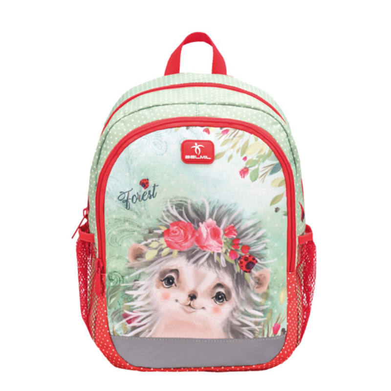 Belmil Kiddy Plus ovis hátizsák, Animal Forest Hedgehog