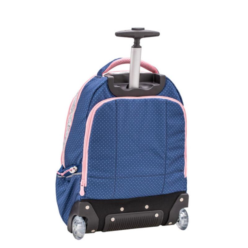 Belmil Easy Go trolley és hátizsák egyben, Elegant Flower