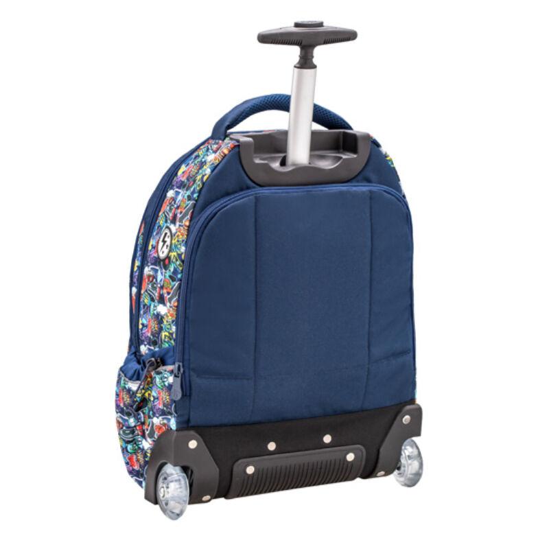 Belmil Easy Go trolley és hátizsák egyben, Graffiti