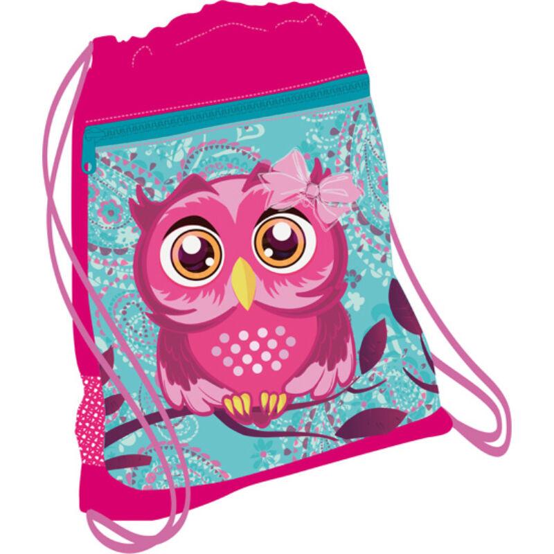 Belmil tornazsák hálós és zsebes, Pinky Owl