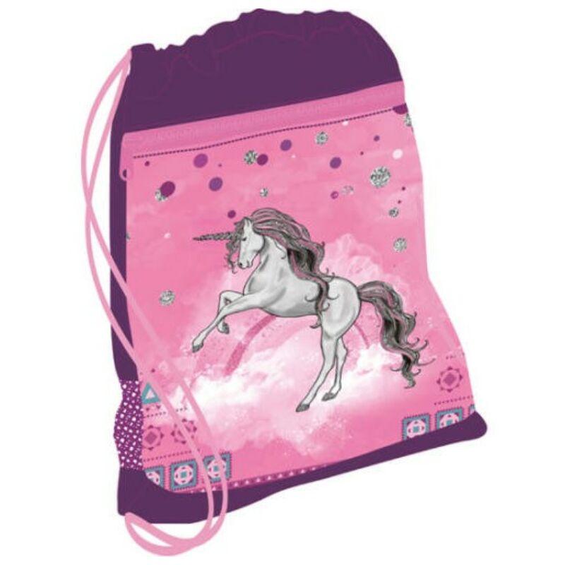 Belmil tornazsák hálós és zsebes, Pinky Unicorn
