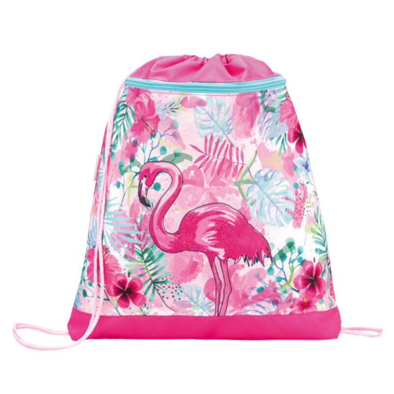 Belmil tornazsák hálós és zsebes, Tropical Flamingo