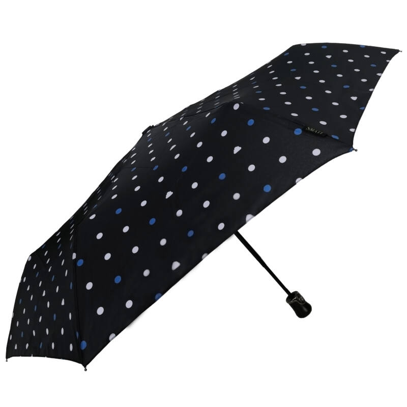 SMATI automata esernyő, színes pöttyös / kék