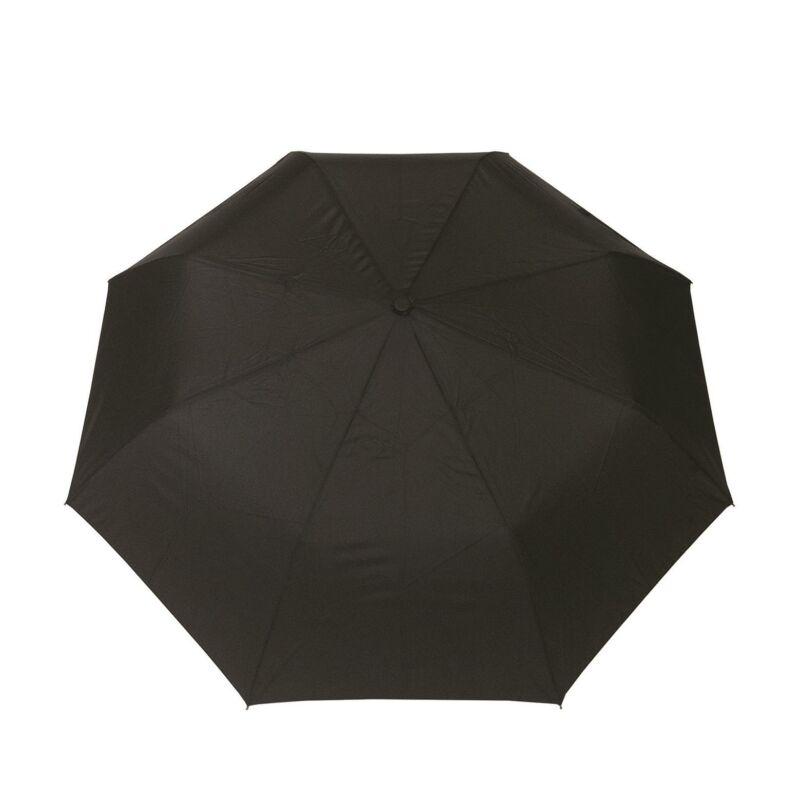 SMATI félautomata esernyő, fekete