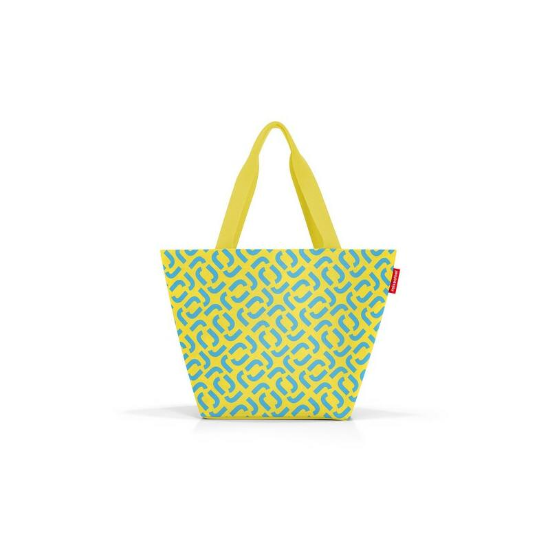 Reisenthel Shopper M, signature lemon