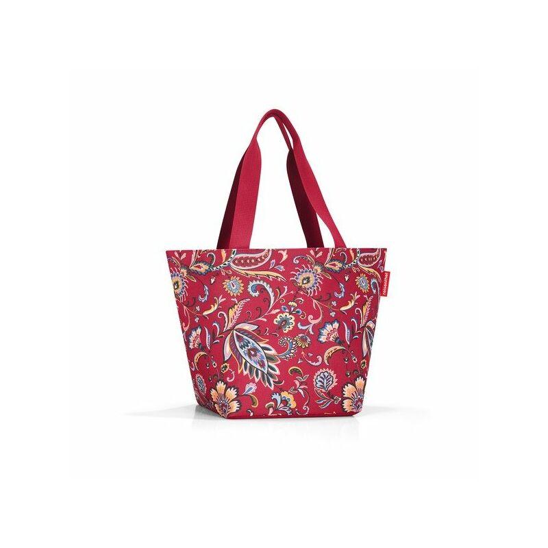 Reisenthel Shopper M, paisley ruby