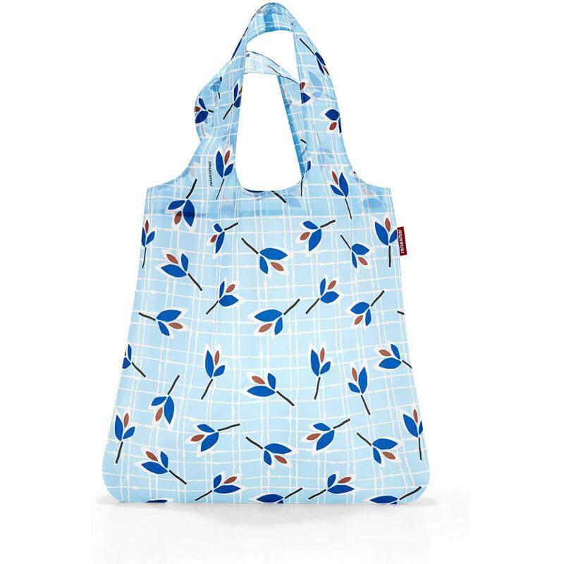 Reisenthel mini maxi shopper, leaves blue