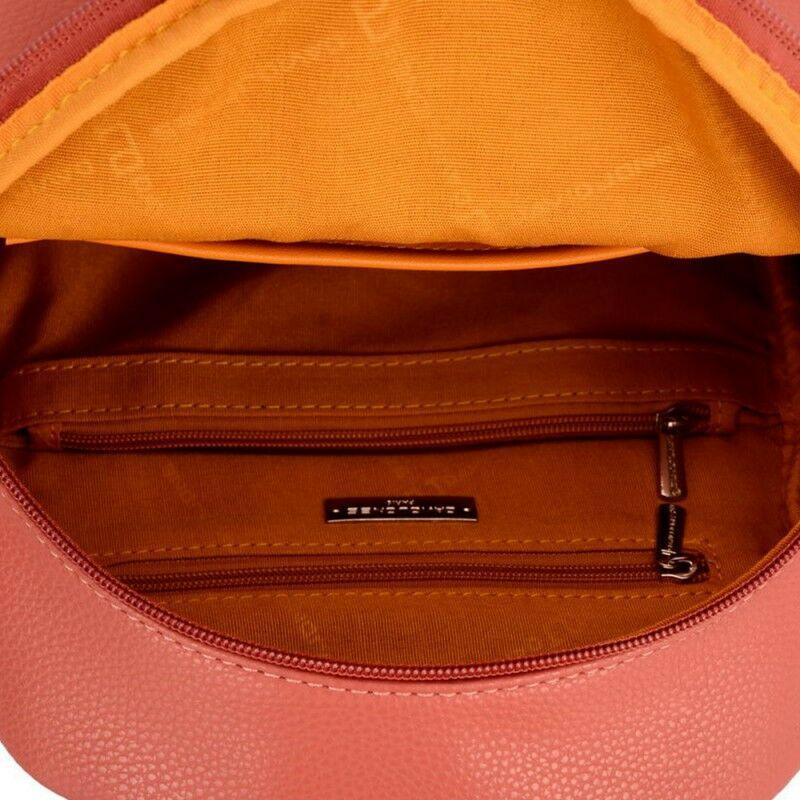 David Jones női divat hátizsák, tégla vörös