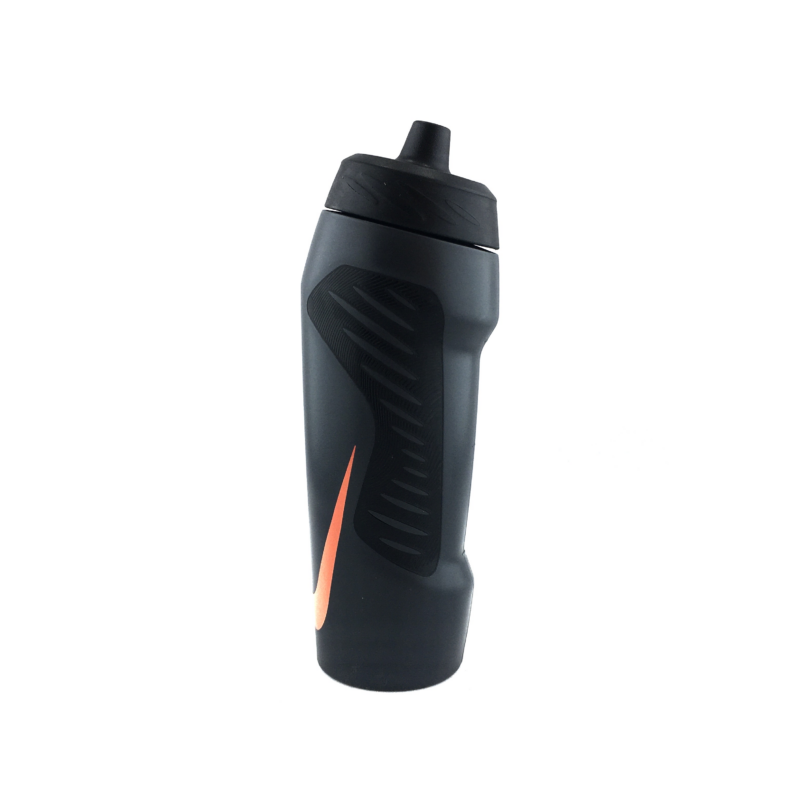 Nike HYPERFUEL WATER BOTTLE 24OZ 710 ml kulacs, fekete-narancs