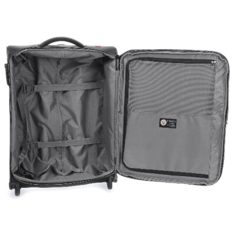 Roncato IRONIK 2-kerekes bővíthető kabinbőrönd S, fekete