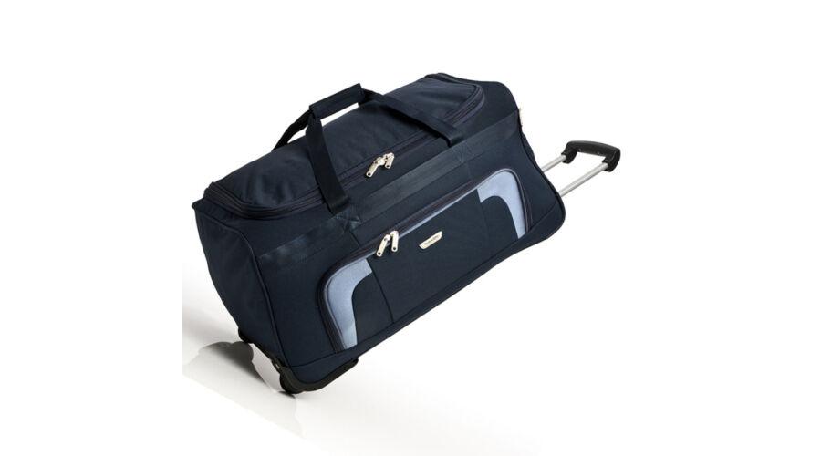 556bced38e7e Travelite Orlando gurulós utazótáska, kék - Bőrönd közepes M