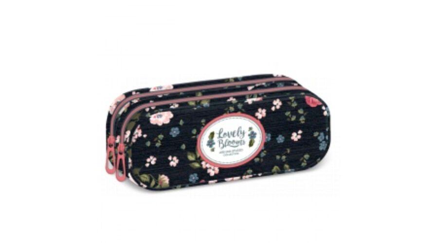 aranyos olcsó különböző tervezés legjobb olcsó Ars Una Mixed flowers tolltartó dupla cipzáras | Táskagaléria / Belmil